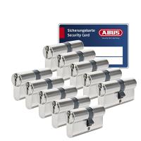ABUS S6+ cilinder met kerntrekbeveiliging (10x) - SKG***