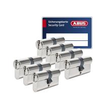 ABUS S6+ cilinder met kerntrekbeveiliging (7x) - SKG***