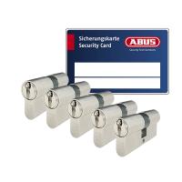 ABUS ZOLIT 1000 cilinder met kerntrekbeveiliging (5x) - SKG***