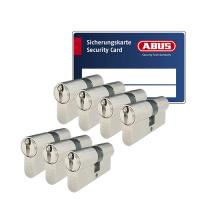 ABUS ZOLIT 1000 cilinder met kerntrekbeveiliging (7x) - SKG***