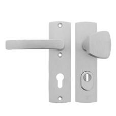 AXA curve kortschild knop/kruk met kerntrekbeveiliging - SKG***