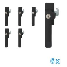 AXA veiligheids raamsluiting links zwart 3329 (6x) - SKG*