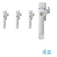 AXA veiligheids raamsluiting links 3329 (4x) - SKG*