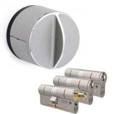Danalock V3 + M&C Matrix cilinder met kerntrekbeveiliging (3x) - SKG***