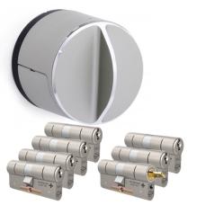 Danalock V3 + M&C Matrix cilinder met kerntrekbeveiliging (7x) - SKG***