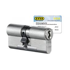EVVA 4KS cilinder nikkel (standaard) met kerntrekbeveiliging (1x) - SKG***