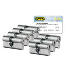 EVVA 4KS cilinder met kerntrekbeveiliging (7x) - SKG***