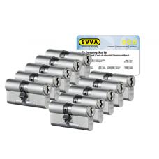 EVVA 4KS cilinder met kerntrekbeveiliging (10x) - SKG***