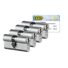 EVVA 4KS cilinder met kerntrekbeveiliging (4x) - SKG***