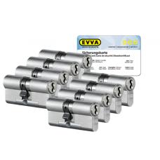EVVA 4KS cilinder met kerntrekbeveiliging (8x) - SKG***