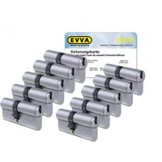 EVVA ICS cilinder met kerntrekbeveiliging (10x) - SKG***