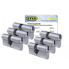 EVVA ICS cilinder met kerntrekbeveiliging (6x) - SKG***