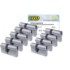 EVVA ICS cilinder met kerntrekbeveiliging (9x) - SKG***
