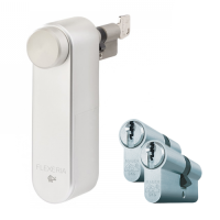 Flexeria smartlock + Mauer F3 cilinder met kerntrekbeveiliging (3x) - SKG***