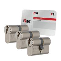 Iseo F9 cilinder met kerntrekbeveiliging (3x) - SKG***