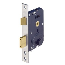 LIPS veiligheids insteekslot - doornmaat 50 PC 55 - voorplaat rechthoekig - SKG**