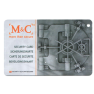 M&C Color Pro cilinder met kerntrekbeveiliging (10x) - SKG***