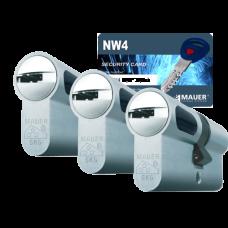 Mauer New Wave 4 cilinder met kerntrekbeveiliging (3x) - SKG***