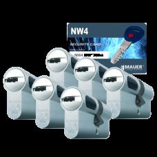 Mauer New Wave 4 cilinder met kerntrekbeveiliging (6x) - SKG***