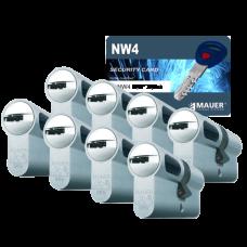 Mauer New Wave 4 cilinder met kerntrekbeveiliging (8x) - SKG***