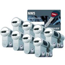 Mauer New Wave 5 cilinder met kerntrekbeveiliging (8x) - SKG***