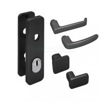 Nemef Hollands Design - kortschild zwart inclusief krukken - SKG***