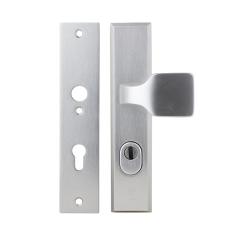 Dieckmann Alpha veiligheidsbeslag knop/kruk met kerntrekbeveiliging (rechthoekig) - SKG***