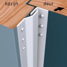 Secustrip Basic binnendraaiend 205 cm wit