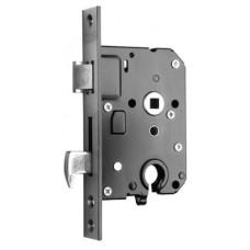 Nemef 4109 veiligheids- insteekslot met haakschoot - doornmaat 50 PC 55 voorplaat rechthoekig - SKG**